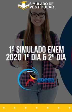 1º SIMULADO ENEM 2020 1º Dia & 2º Dia