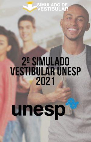2º SIMULADO VESTIBULAR UNESP 2021