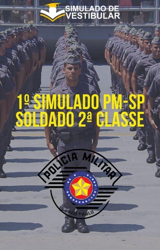 1º SIMULADO PM-SP SOLDADO 2ª CLASSE