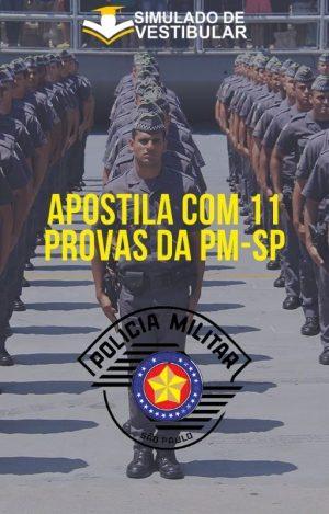 APOSTILA COM 11 PROVAS DA PM-SP