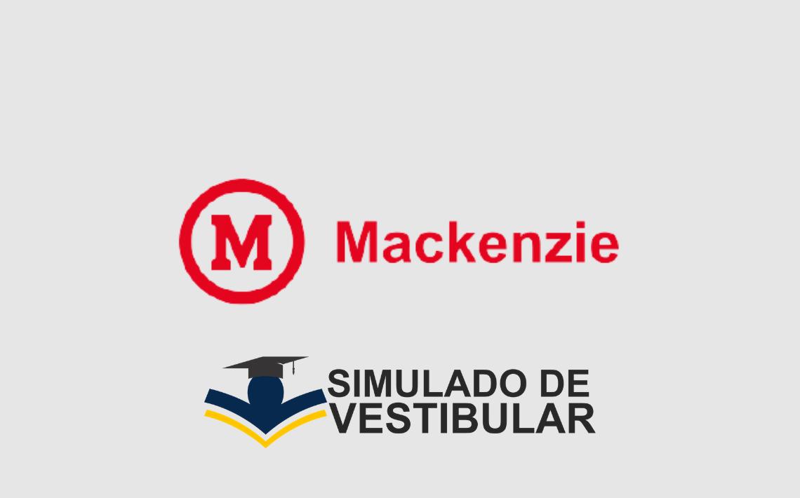 Simulado de Vestibular MACKENZIE