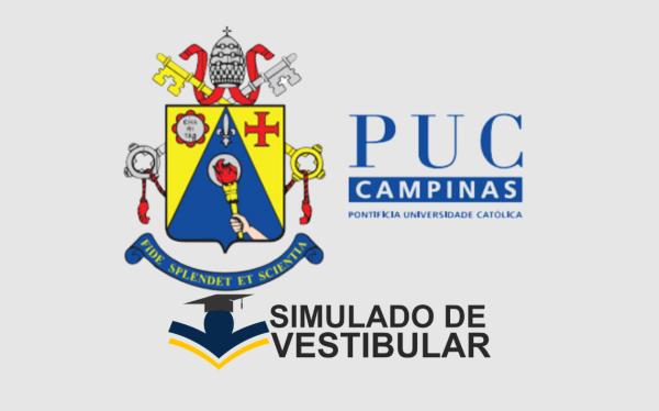 Simulado de Vestibular PUC CAMPINAS