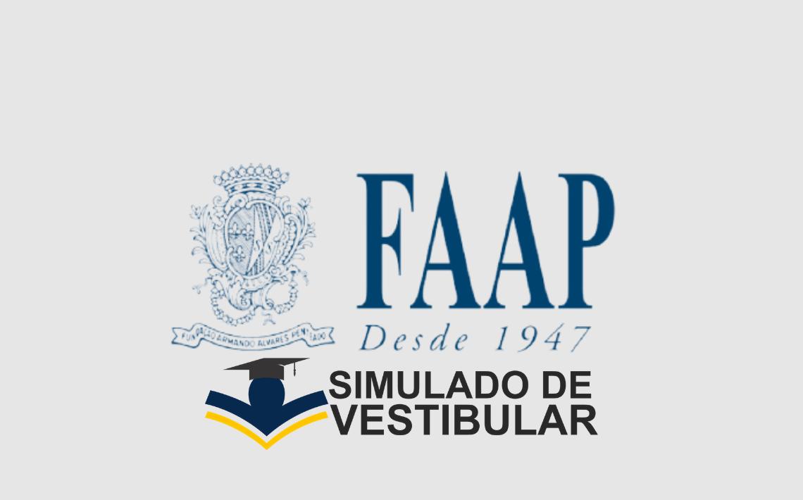 Simulado de Vestibular FAAP