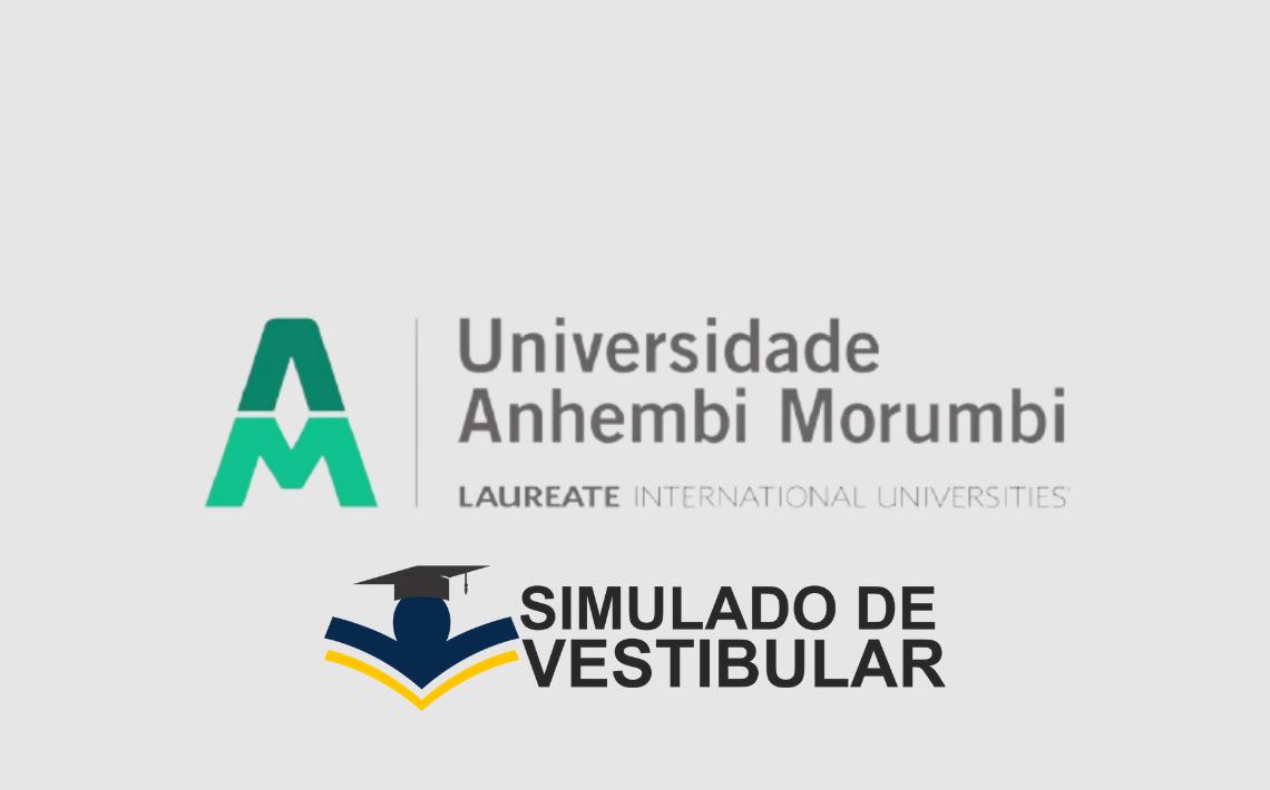 Simulado de Vestibular ANHEMBI MORUMBI
