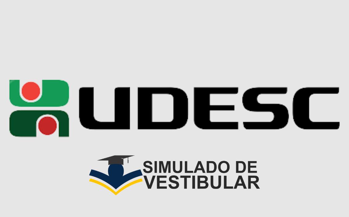 Simulado de Vestibular UDESC