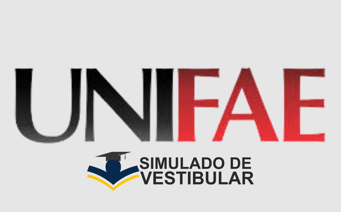 Simulado de Vestibular UNIFAE