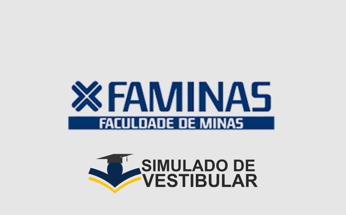 Simulado de Vestibular FAMINAS